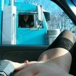Girls Flashing Their Pussy To Truck Drivers Videos