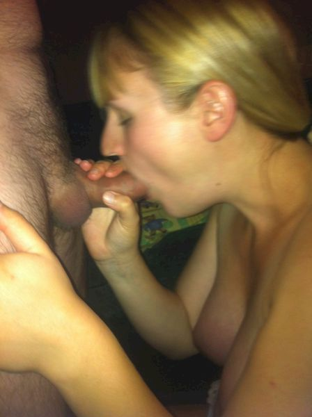 Blonde mature with dildo