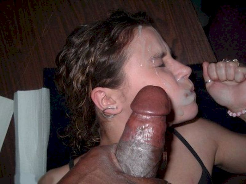 fucking and cumming on hot wife ex face