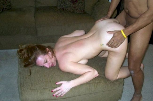 Drunk wife gangbang seduction